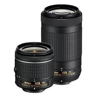 Nikon D5600 + AF-P DX 18-55mm VR + AF-P DX 70-300mm VR pas cher