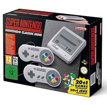 Nintendo Classic Mini : Super NES Console Mini Super NES avec 21 jeux préinstallés
