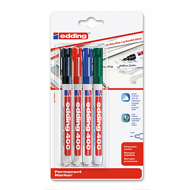 Edding 400 - set de 4 couleurs