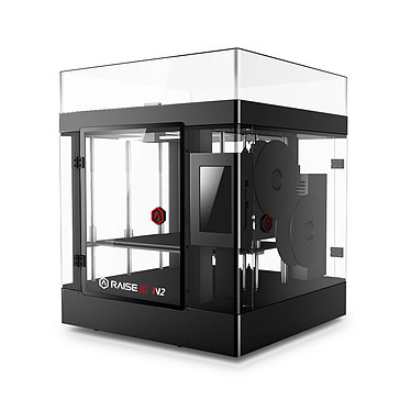 Raise3D N2 Dual Impresora 3D a color con 2 cabezales de impresión PLA/PLA+/ABS/PC/PETG/R-flex/TPU/HIPS/Bronze/Wood - (USB/SD Card/Ethernet/Wifi)