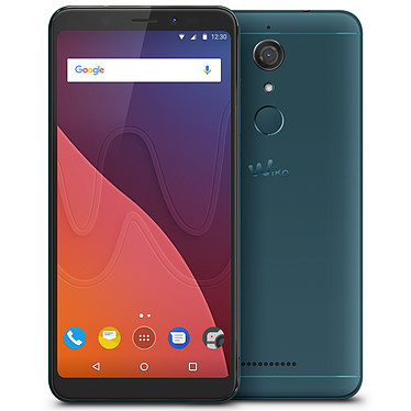 "Wiko View 16 Go Bleen Smartphone 4G-LTE Dual SIM - Snapdragon 425 Quad-Core 1.4 GHz - RAM 3 Go - Ecran tactile 5.7"" 720 x 1440 - 16 Go - NFC/Bluetooth 4.2 - 2900 mAh - Android 7.1"