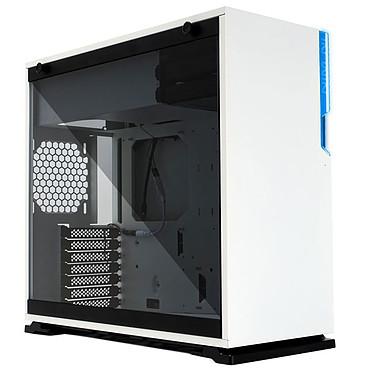 IN WIN 101C Blanc Boîtier Moyen Tour ATX noir avec fenêtre en verre trempé