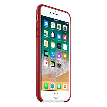 Avis Apple Coque en cuir (PRODUCT)RED Apple iPhone 8 Plus / 7 Plus