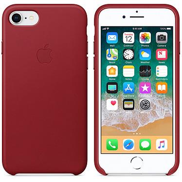Apple Coque en cuir (PRODUCT)RED Apple iPhone 8 / 7 Coque en cuir pour Apple iPhone 8 / 7