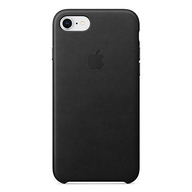 Acheter Apple Coque en cuir Noir Apple iPhone 8 / 7