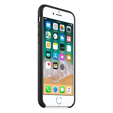 Avis Apple Coque en cuir Noir Apple iPhone 8 / 7