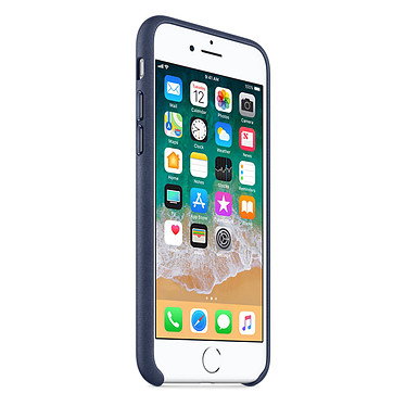 Avis Apple Coque en cuir Bleu nuit Apple iPhone 8 / 7