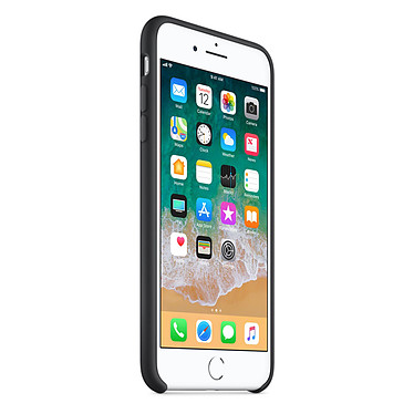 Avis Apple Coque en silicone Noir Apple iPhone 8 Plus / 7 Plus