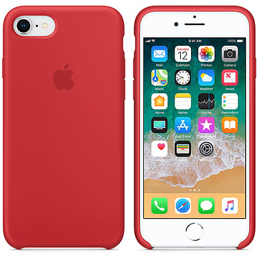 Apple Coque en silicone (PRODUCT)RED Apple iPhone 8 / 7