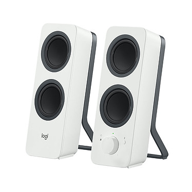 Logitech Multimedia Speakers Z207 Blanc Ensemble 2.0 - 5 Watts - Jack 3.5mm/Bluetooth