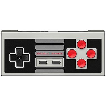 8Bitdo NES30 Manette filaire ou sans fil pour Windows, Android, MacOS, Switch, Wii, Wii U