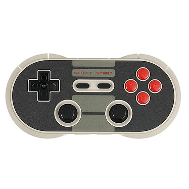 8Bitdo NES30 Pro Manette filaire ou sans fil pour Windows, Android, MacOS, Switch, Wii, Wii U, PS3
