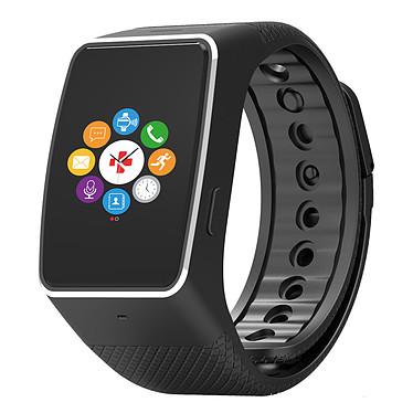 """MyKronoz ZeWatch4 Noir Montre connectée avec paiement sans contact, écran couleur tactile 1.3"""", Bluetooth NFC compatible iOS, Android et Windows Phone"""