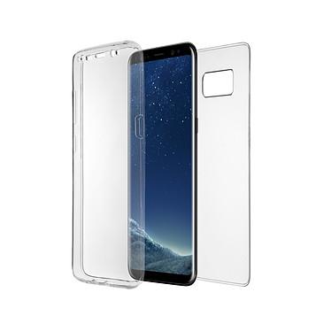 QDOS Fusion S Galaxy S8+ Coque de protection transparente 2-en-1 pour Samsung Galaxy S8+
