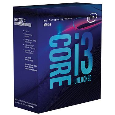 Intel Core i3-8350K (4.0 GHz) Processeur Quad Core Socket 1151 Cache L3 8 Mo Intel UHD Graphics 630 0.014 micron (version boîte sans ventilateur - garantie Intel 3 ans)