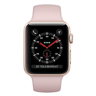 Apple Watch Series 3 GPS Aluminium Or Sport Rose 38 mm