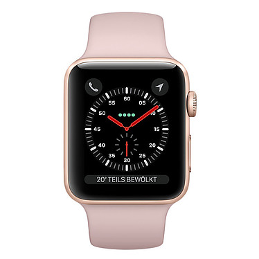 Apple Watch Series 3 GPS Aluminium Or Sport Rose 42 mm