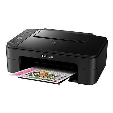 Canon PIXMA TS3150 Noir Imprimante Multifonction jet d'encre couleur 3-en-1 compatible AirPrint et Google Cloud Print (USB / Cloud / Wi-Fi)