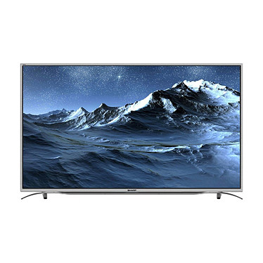 "Sharp LC-49CUF8372ES LED TV 4K 49"" (124 cm) - 3840 x 2160 píxeles - TDT, Cable y Satélite HD - Ultra HD - Wi-Fi - Bluetooth - DLNA - 600 Hz"