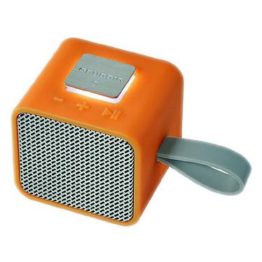 Grundig GSB 710 Naranja Altavoz portátil Bluetooth de 3W con entrada AUX y micrófono incorporado