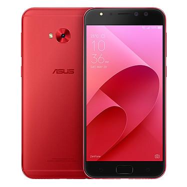 """ASUS ZenFone 4 Selfie Pro ZD552KL Rouge Smartphone 4G-LTE Dual SIM - Snapdragon 625 8-Core 2.0 GHz - RAM 4 Go - Ecran tactile 5.5"""" 1080 x 1920 - 64 Go - Bluetooth 4.0 - 3000 mAh - Android 7.0"""