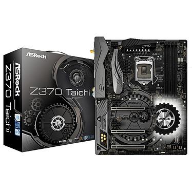 ASRock Z370 TAICHI Carte mère ATX Socket 1151 Intel Z370 Express - 4x DDR4 - SATA 6Gb/s + M.2 - USB 3.0 - 3x PCI-Express 3.0 16x
