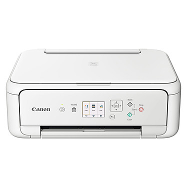 Canon PIXMA TS5151 Blanc Imprimante Multifonction jet d'encre couleur 3-en-1 compatible AirPrint et Google Cloud Print (USB / Bluetooth / Cloud / Wi-Fi)
