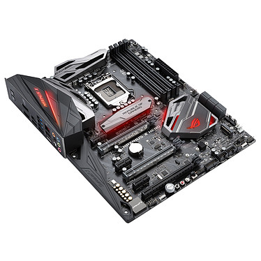 ASUS MAXIMUS X HERO Wi-Fi AC Carte mère ATX Socket 1151 Intel Z370 Express - 4x DDR4 - SATA 6Gb/s + M.2 - USB 3.1 - Wi-Fi AC/Bluetooth 4.2 - 3x PCI-Express 3.0 16x