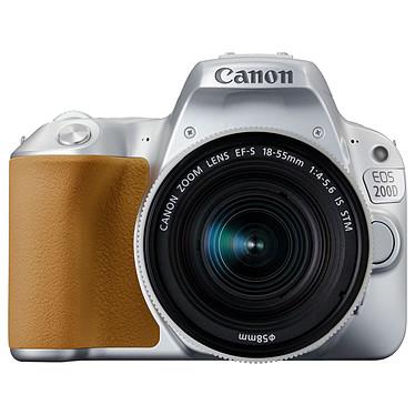 Canon EOS 200D Argent + 18-55 IS STM