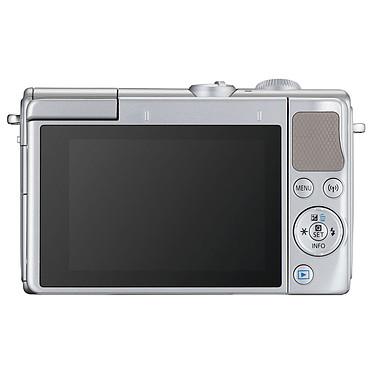 Canon EOS M100 Argent + EF-M 15-45 mm IS STM + Étui jaune pas cher