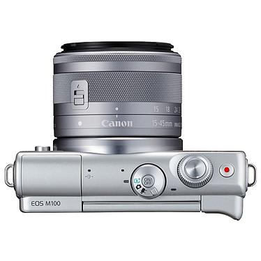 Acheter Canon EOS M100 Argent + EF-M 15-45 mm IS STM + Étui jaune
