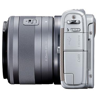 Avis Canon EOS M100 Argent + EF-M 15-45 mm IS STM + Étui jaune