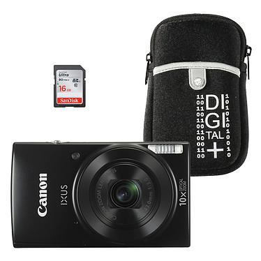 Canon IXUS 190 Noir + Étui + SDHC 16 Go