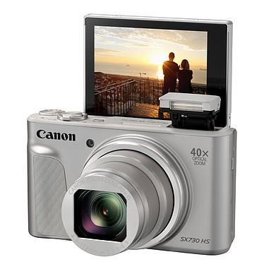 Avis Canon PowerShot SX730 HS Argent Travel Kit