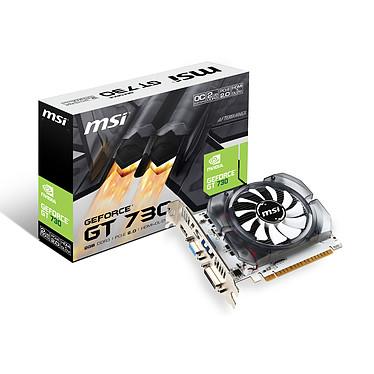 MSI GeForce GT 730 N730K-2GD3/OCV1 2 Go HDMI/DVI - PCI Express (NVIDIA GeForce avec CUDA GT 730)