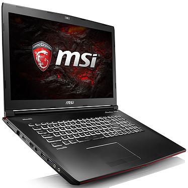 "MSI GP72VR 7RF-430XFR Leopard Pro Intel Core i5-7300HQ 8 Go SSD 128 Go + HDD 1 To 17.3"" LED Full HD NVIDIA GeForce GTX 1060 3 Go Graveur DVD Wi-Fi AC/Bluetooth Webcam FreeDOS (garantie constructeur 2 ans)"