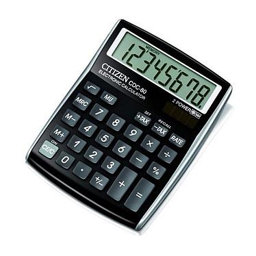 Citizen CDC-80BK Calculatrice de poche 8 chiffres