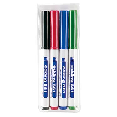 Edding 661 - set de 4 couleurs