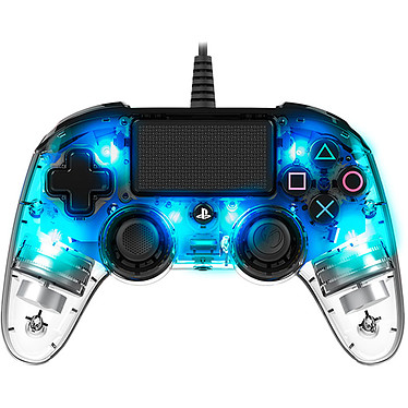 Nacon Gaming Illuminated Compact Controller Bleu