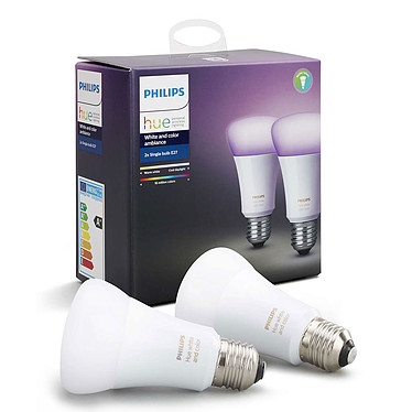 Avis Philips Hue White & Color Ambiance Duobox E27