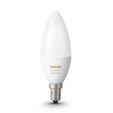 Avis Philips Hue White & Color Ambiance Flamme Duobox E14