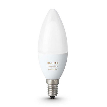 Avis Philips Hue White & Color Ambiance Flamme E14