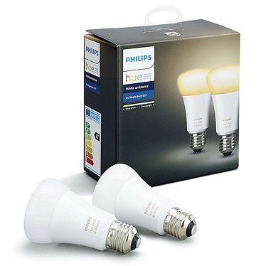 Avis Philips Hue White Ambiance Duobox E27