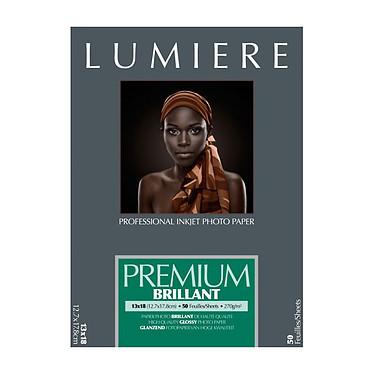 Lumière Premium Brillant 270 12,7 x 17,8 Papier brillant professionnel 12,7x17,8 cm 270 g (50 feuilles)