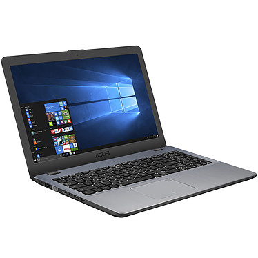 "ASUS P1510UA-GQ280R Intel Core i3-7100U 4 Go 500 Go 15.6"" LED HD Graveur DVD Wi-Fi AC/Bluetooth Webcam Windows 10 Professionnel 64 bits (garantie constructeur 2 ans)"