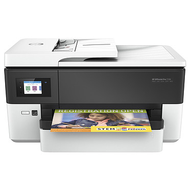 HP OfficeJet Pro 7720 Imprimante Multifonction jet d'encre couleur 4-en-1 (USB 2.0 / Ethernet / Wi-Fi / AirPrint / Google Cloud Print)