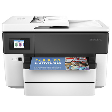 HP OfficeJet Pro 7730 Imprimante Multifonction jet d'encre couleur 4-en-1 (USB 2.0 / Ethernet / Wi-Fi / AirPrint / Google Cloud Print)
