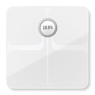 FitBit Aria 2 Blanc Balance intelligente sans fil Wi-Fi pour appareils iOS, Android et Windows