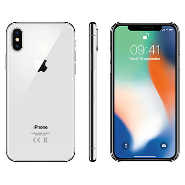 Acheter Apple iPhone X 256 Go Argent