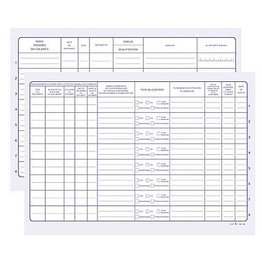 Avis Elve Registre Unique d'inscription du personnel et des stagiaires 210 x 297 mm